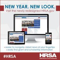 HRSA Website - New Year, New Look