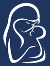 Clipart of a woman holding a baby