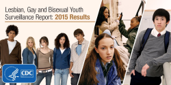 Lesbian, Gay and Bisexual Your Survellance Report: 2015 Results