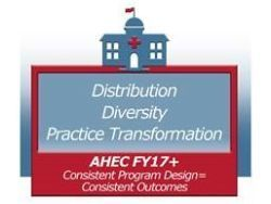 Area Health Education Centers FY 2017 Distribution, diversity, practice transformation
