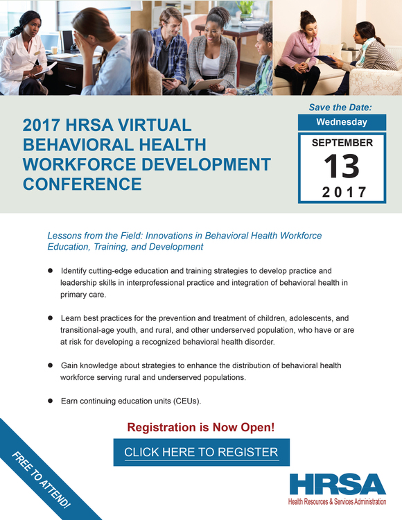 HRSA BH Conf Registration