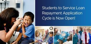 The NHSC Students to Service loan repayment application is now open