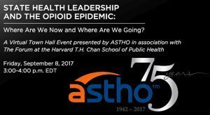 state health leadership and the opioid epidemic