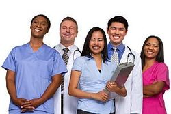 photo of five medical professionals