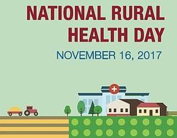 National Rural Health Day November 16, 2017