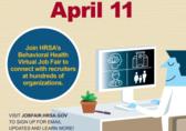 Behavioral health Virtual Job Fair