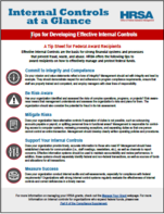 Internal Controls Tips Sheet