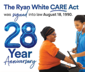 Ryan White CARE Act 28 year anniversary