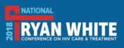 Logo for the 2018 National Ryan White Conference on HIV Care and Treatment