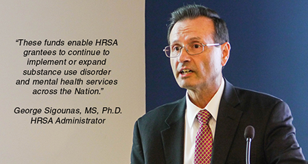 photo of Dr. George Sigounas, MS, Ph.D., HRSA Administrator