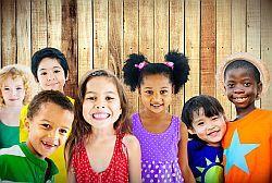 photo of seven children