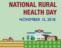National Rural Health Day November 15, 2018