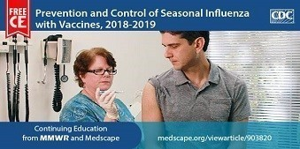CDC and Medscape Flu Vaccine