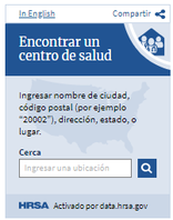 screen capture of one of the new Spanish-version widgets