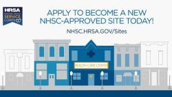 hrsa nhsc sites application is now open