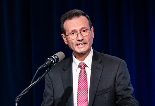 HRSA Administrator Dr. George Sigounas