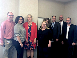 Public health leaders and members of the HIV community in Missouri met with HRSA Associate Administrators Laura Cheever and Jim Macrae
