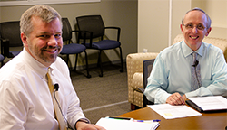 Associate Administrators Dr. Michael Warren (MCHB) and Tom Morris (FORHP)
