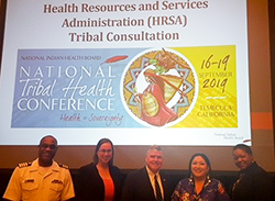 HRSA's delegation to the National Tribal Health Conference in Temecula, California on September 16-19, led by Acting Administrator Tom Engels