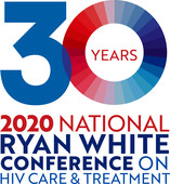 Ryan White 2019 - 30th Anniversary conference logo