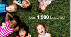 National Pediatric Transplant Week: Over 1,900 Kids Saved. Photo of children lying in the grass
