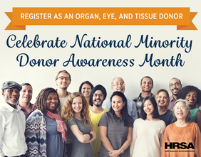 Minority Donor Awareness Month