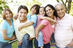 a hispanic american family