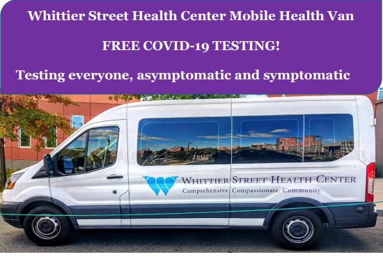 Whittier Street Mobile Van