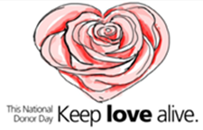 National Donor Day: Keep Love Alive
