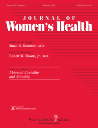 journal of women's health cover