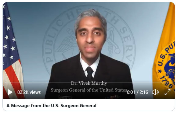 Dr. Vivek Murthy, Surgeon General of the United States