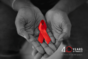 HIV epidemic 40 years of progress graphic