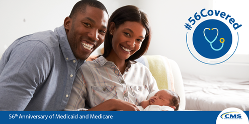 56th anniversary of Medicaid and Medicare