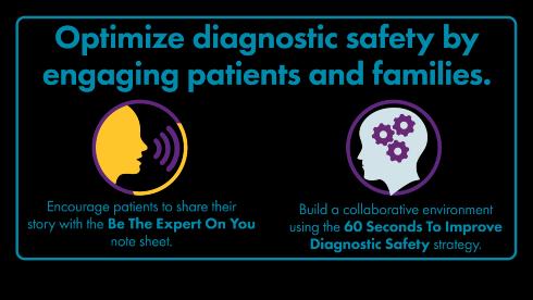 optimize diagnostic safety graphic