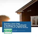 National Academy for State Health Policy report cover