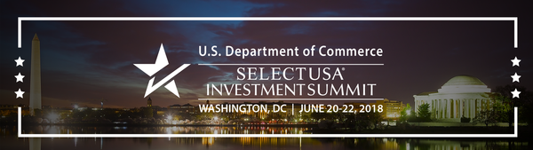 2018 SelectUSA Investment Summit footer