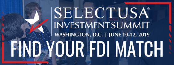 2019 SelectUSA Investment Summit - matchmaking header (FIND YOUR FDI MATCH)
