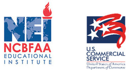 National Customs Brokers & Forwarders Association of America, Inc logo and the U.S Commercial Service Logo))