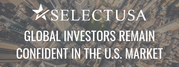 Global investors remain confident in the U.S. market