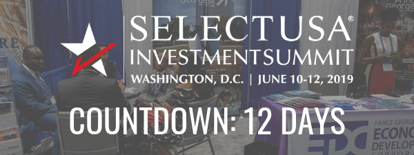 SelectUSA Investment Summit countdown: 12 days
