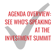 Agenda overview: See who's speaking at the Investment Summit