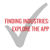 Finding industries: Explore the app