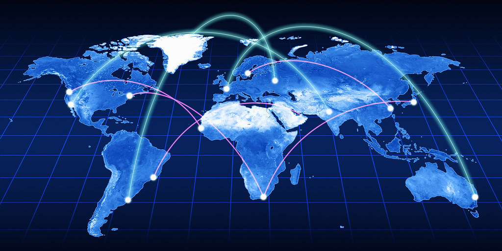 Generic (stock) image of globalization