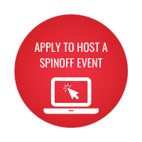 APPLY TO HOST A SPINOFF EVENT (laptop icon)