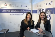SelectUSA staff at Hannover Messe