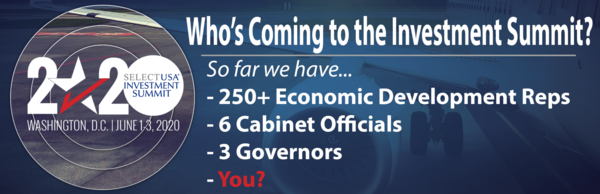 We have 6 cabinet officials and 3 governors coming to the Investment Summit