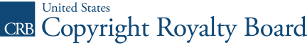 Copyright Royalty Board News logo