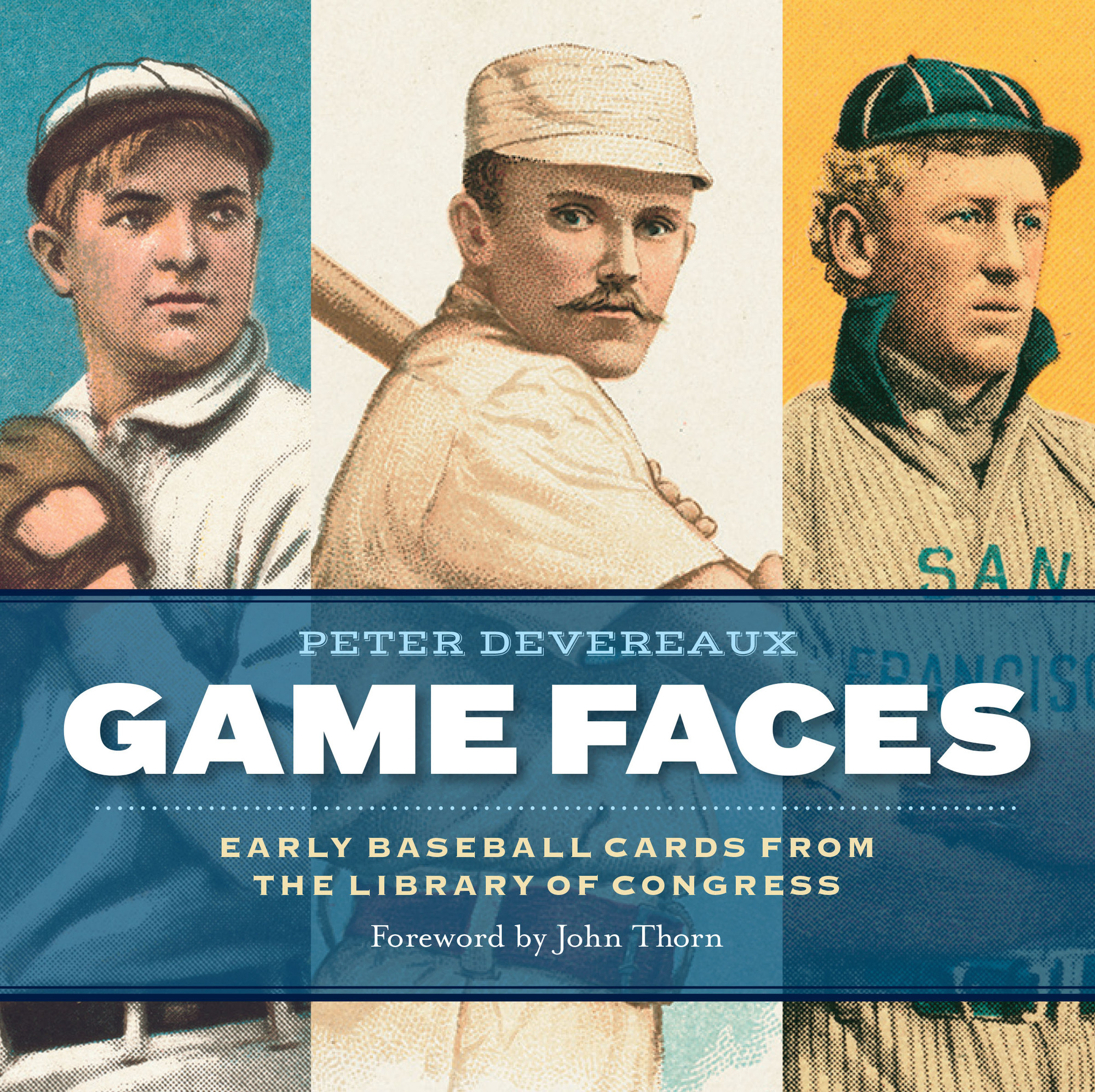 """Game Faces: Early Baseball Cards from the Library of Congress"""