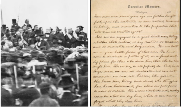 Gettysburg Address: LIVE Presentation & Transcribe-a-thon