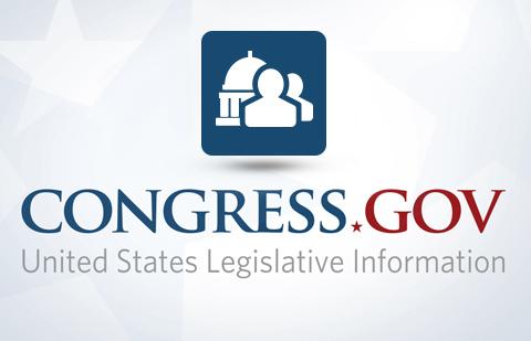 Congress.gov member information